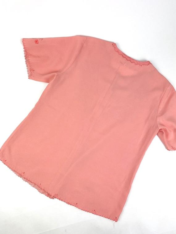 80s Lounge Pant Suit• medium• silk - image 8