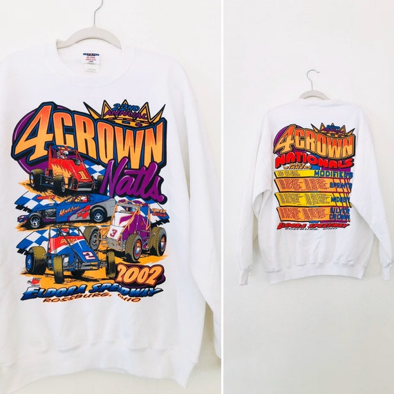 VTG 4Crown Nationals Sweatshirt •Large• 22nd Annual