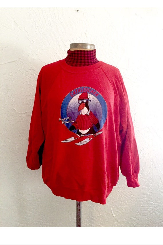 80s Penguin Sweatshirt