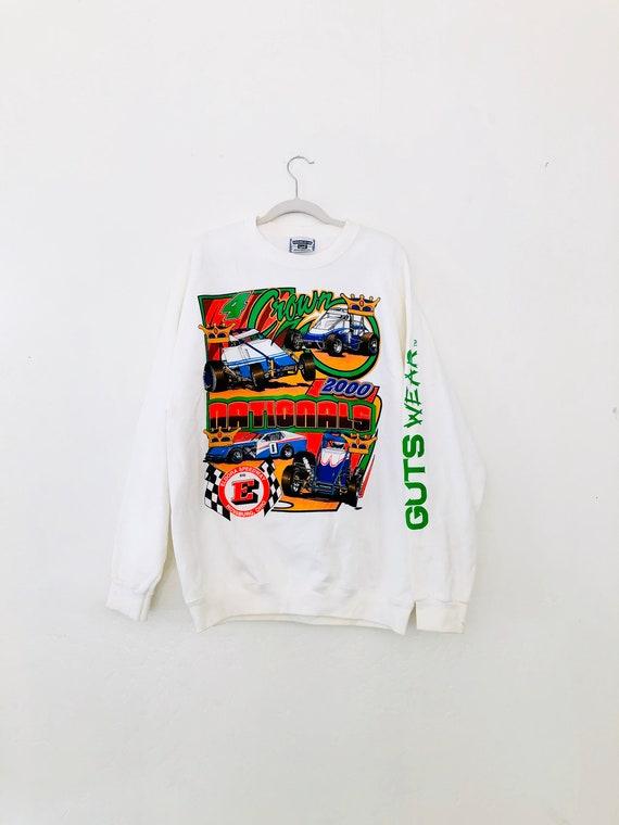 VTG 4Crown Nationals• Crew Sweatshirt •Large•  2000