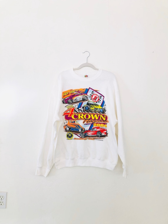 VTG 4Crown Nationals Sweatshirt •Large• 24th Annual
