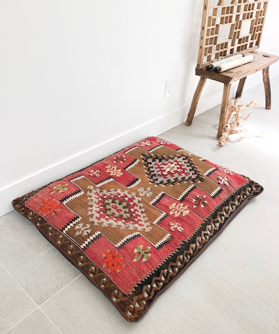 Moroccan Rug Dog Bed