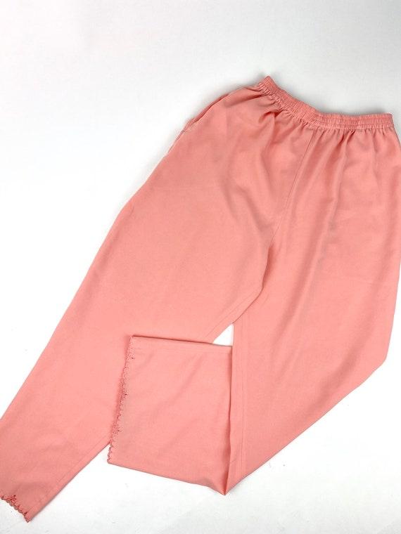 80s Lounge Pant Suit• medium• silk - image 5