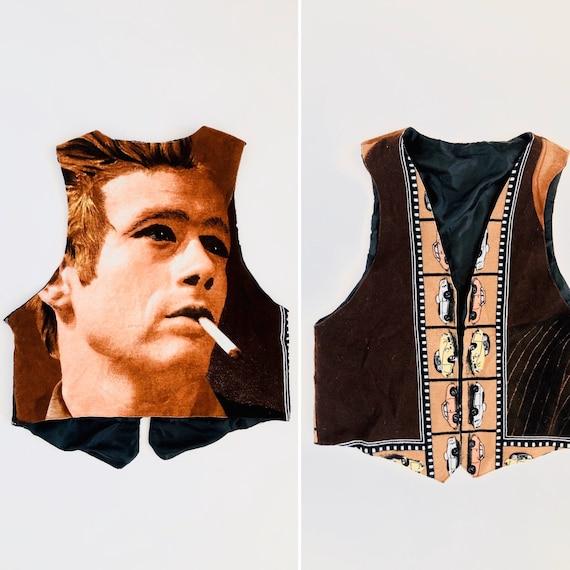 70s Black Eyed Dean Vest