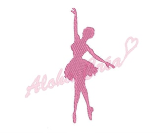 Machine Embroidery Design dancer ballerina (4 sizes) - Instant Digital Download