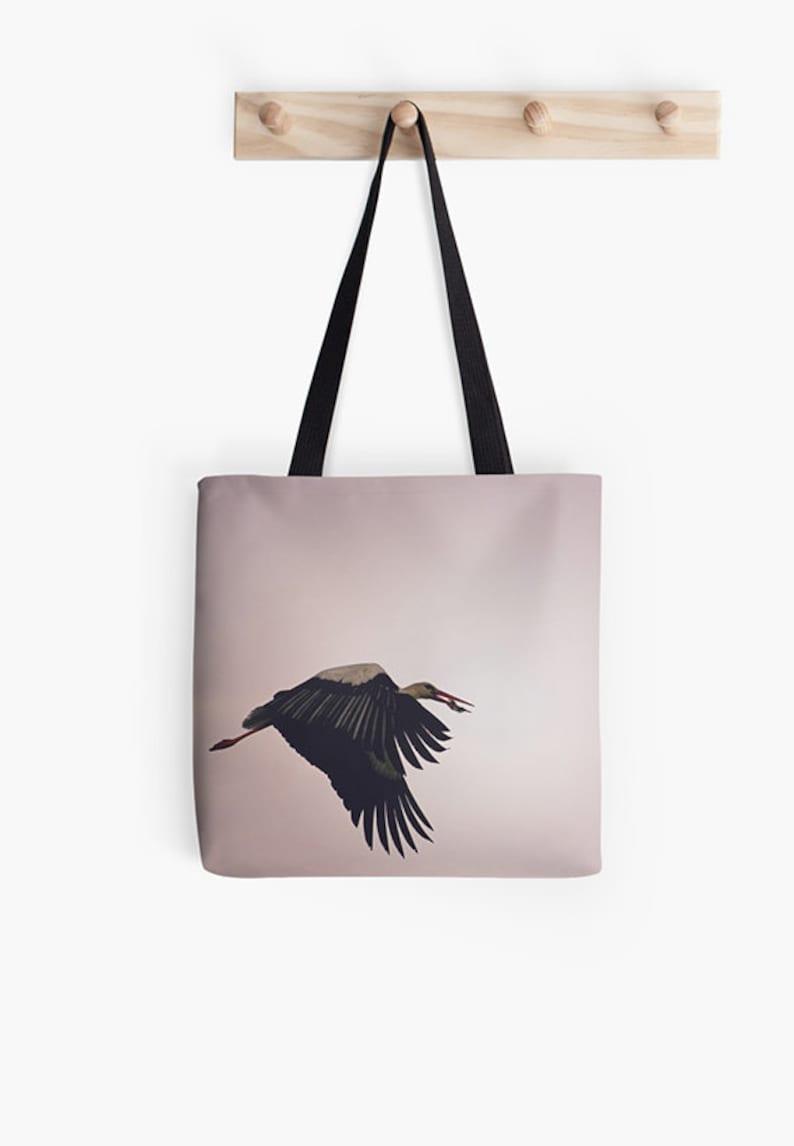 Women/'s bag market tote bird tote bird bag reusable grocery bag arty bag shopping bag teenage girl gift women/'s tote birthday gift