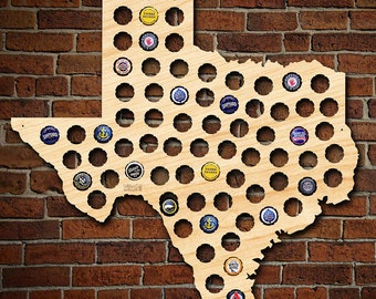 Wall Decor Beer Cap Holder Display Gift for Him New Mexico State USA Beer Cap Map Groomsmen gift Beer Lover Christmas Gift for Him