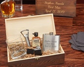 All the Vices Personalized Gift Set for Whiskey Lovers - Personalized Whiskey Gift, Groomsmen Gift Idea, Father 39 s Day Gift, Custom Gift Set
