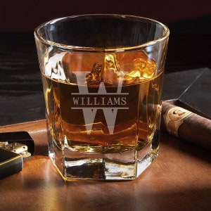 Oakmont Buckman Personalized Whiskey Glass Perfect For Etsy