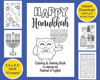 thanksgiving coloring activity book thanksgiving coloring etsy