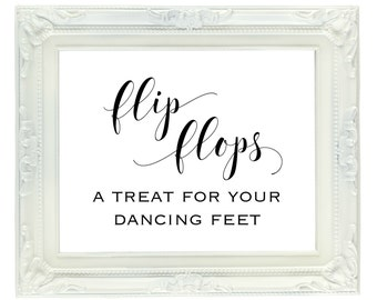 5a3748fddf6f13 Dancing Shoes Printable Wedding Sign 8x10 Dance Floor
