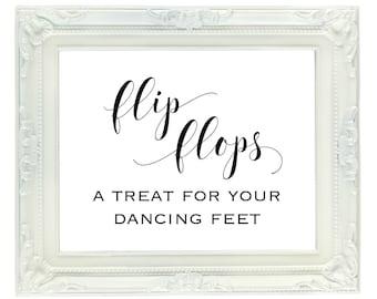 5a3748fddf6f13 Dancing Shoes Printable Wedding Sign 8x10 Dance Floor