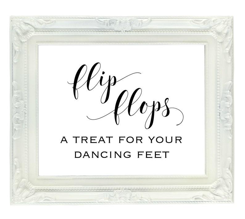 0bbb15a6c504d Flip Flops A Treat for your Dancing Feet Flip Flop Wedding