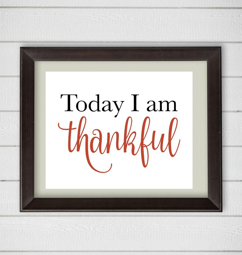 image about I Am Thankful for Printable identified as Currently I Am Grateful Printable Electronic Wall Artwork, Thanksgiving Artwork, 8x10 Thanksgiving Indication, Slide Harvest Printable Artwork, Autumn Electronic Indication