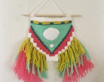 Wild Child Handwoven Wall Hanging