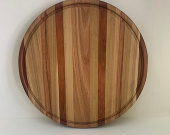 Signature 13 Inch Round Serving Board, Cutting Board, Cheese Board