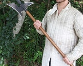 18th Century Medieval Iron Forged Sergeant s Halberd