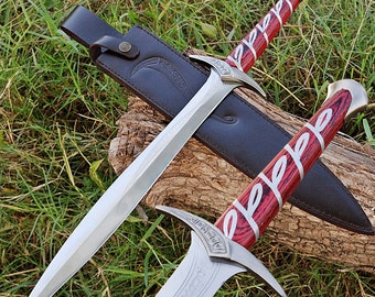 Movie Replica Elven Made Polished Steel Sting Sword Dagger