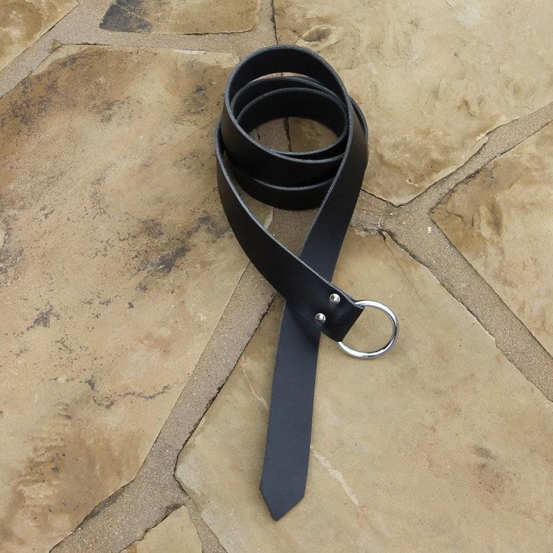 Medieval Title of Nobility Leather Belt