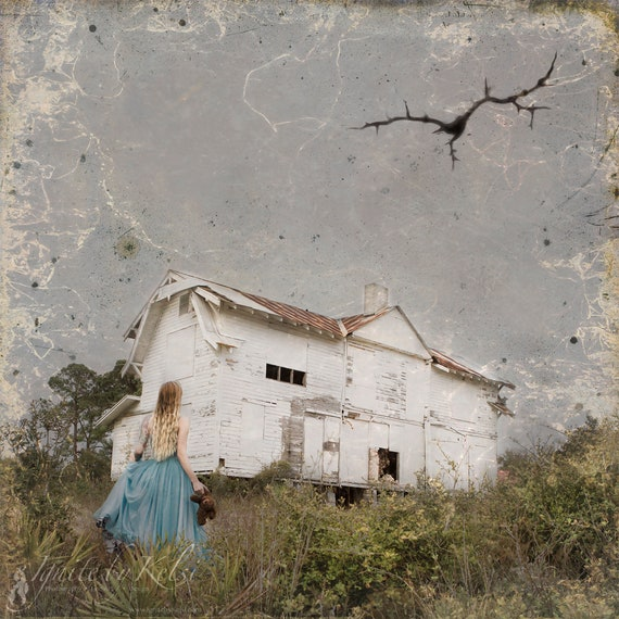 Riss, Fine Art Photo, barn, old house, country