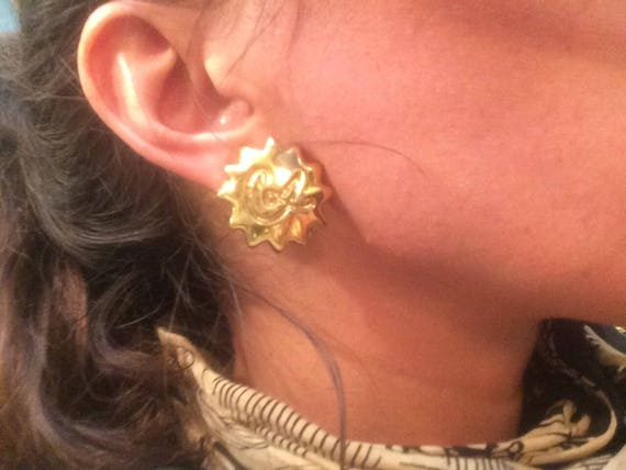 Clip on earrings Christian Lacroix - image 3