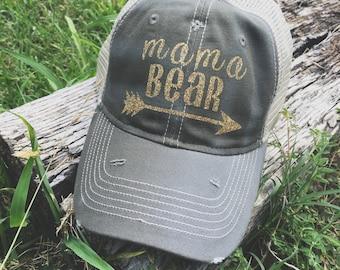 aa709846c62 Mama Bear Trucker Hat