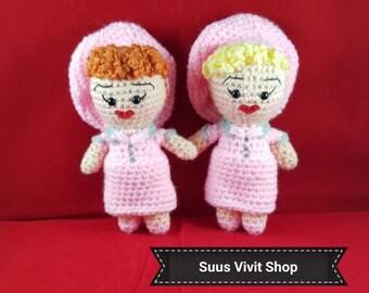 Lucy Inspired Amigurumi Dolls READY TO SHIP