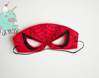 Spiderman Inspired Mask