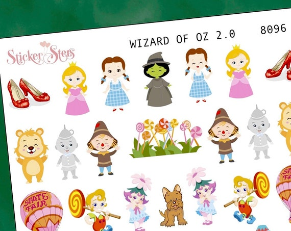 Wizard of Oz 2.0 Planner Stickers Mini Kit | 8096