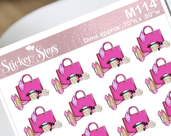 Shopping Small Sheet Planner Stickers Set Cute and Functional made for all Planners
