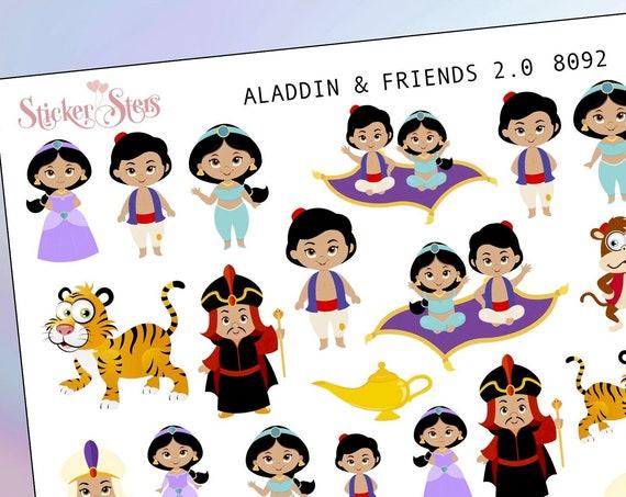 Aladdin 2.0 Planner Stickers Mini Kit | 8092