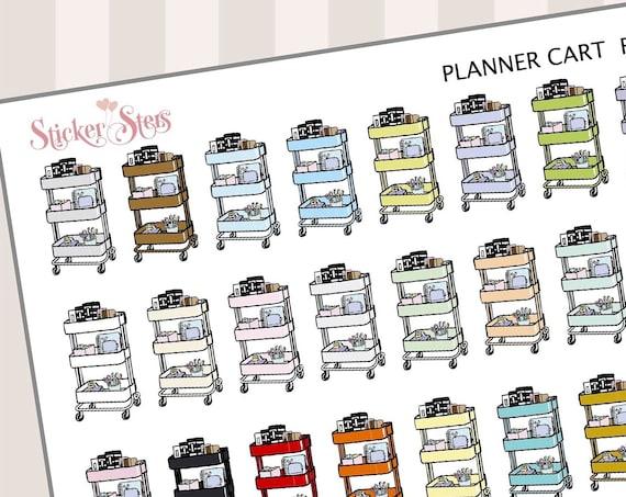 Planner Cart | F137 Planner Stickers