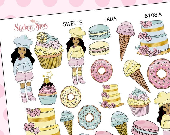 Sweets Planner Stickers Mini Kit | 8108 JADA