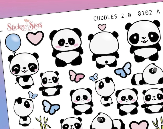 Cuddles 2.0 Planner Stickers Mini Kit | 8102