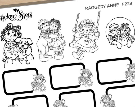 Anney Foil Option Available | F229 Planner Stickers