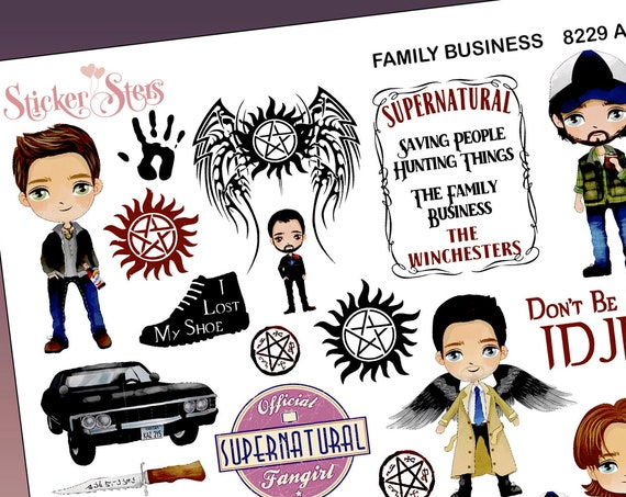 Family Business Planner Stickers Stickers Mini Kit | 8229