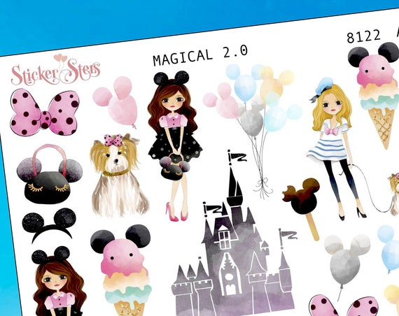 Magical Planner Stickers Mini Kit | 8122