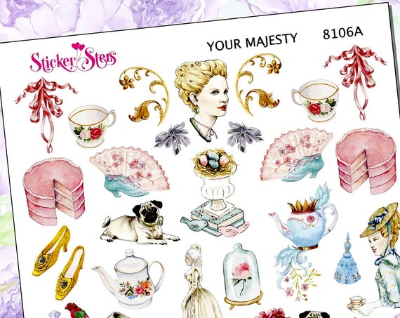 Her Majesty the Queen Planner Stickers Mini Kit | 8106