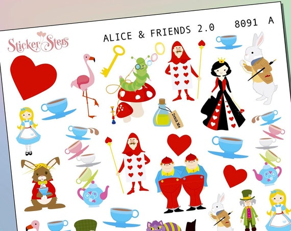 Alice 2.0 Planner Stickers Mini Kit | 8091