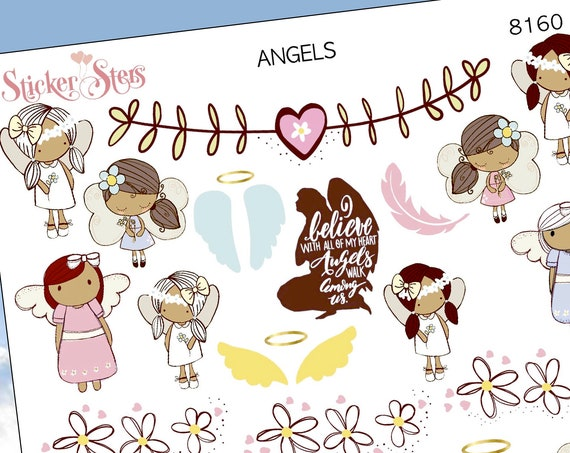 Angels Planner Stickers Stickers Mini Kit | 8160
