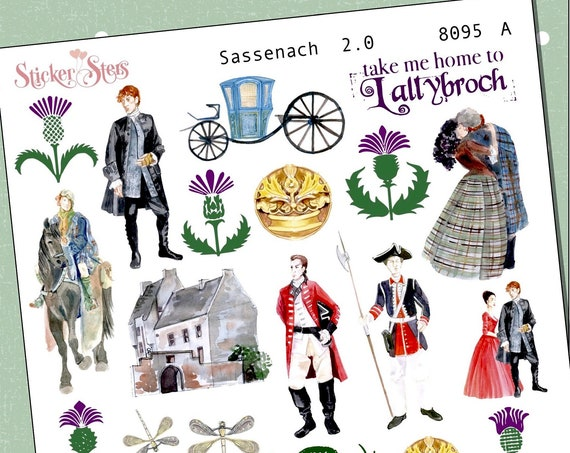 Sassenach 2.0 Planner Stickers Mini Kit | 8095