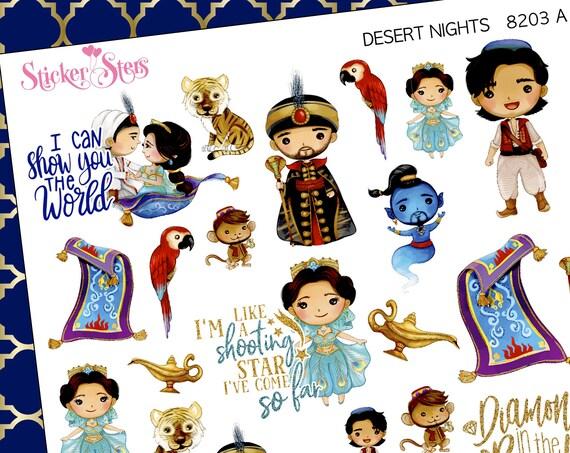 Desert Nights Planner Stickers Stickers Mini Kit | 8203