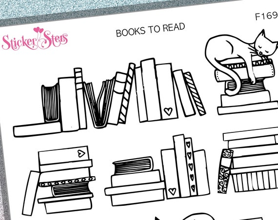 Books to Read | F169 Planner Stickers