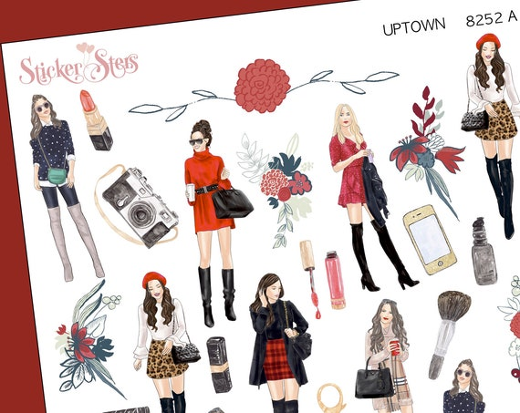 Uptown Fashion Planner Stickers Stickers Mini Kit | 8252