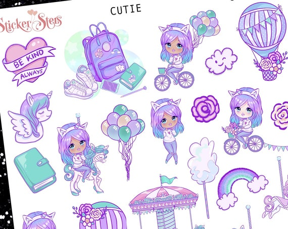 Cutie Planner Stickers Stickers Mini Kit | 8194