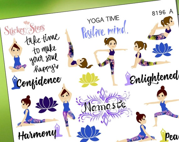 Yoga Stickers Stickers Mini Kit | 8196