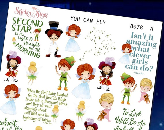 You Can Fly Planner Stickers Stickers Mini Kit | 8078