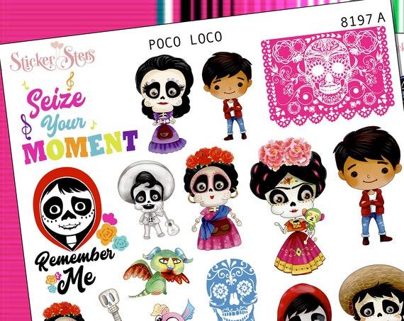 Poco Loco Planner Stickers Stickers Mini Kit | 8197