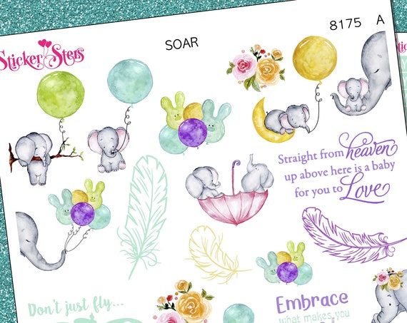 Soar Planner Stickers Stickers Mini Kit | 8175