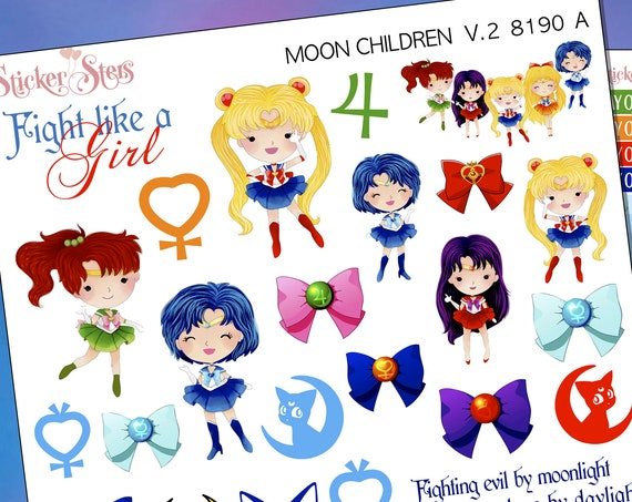 Moon Children Planner Stickers Stickers Mini Kit | 8190